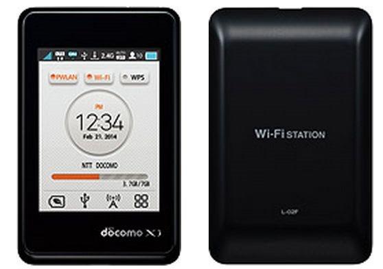 ドコモ、3インチWi-Fiルーター『Wi-Fi STATION L-02F』2/22発売へ