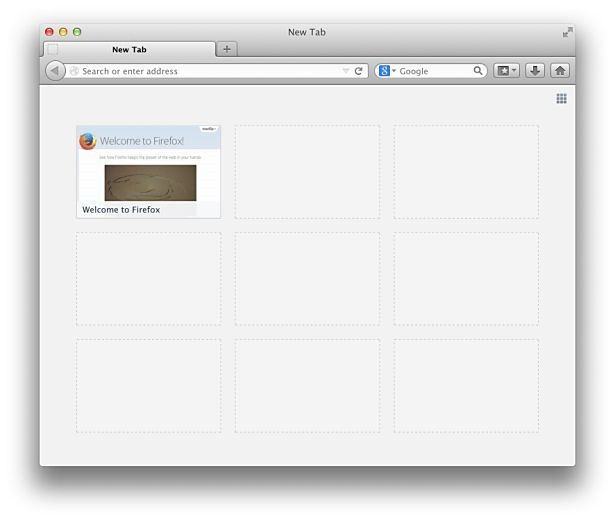 Mozilla、新規タブに広告表示か―『Directory Tiles』プロジェクト