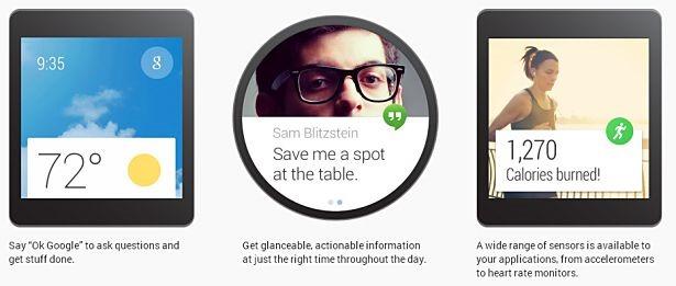 Google、ウェアラブルOS『Android Wear』発表―搭載スマートウォッチは年内リリース