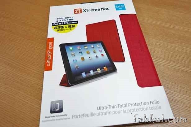 XtremeMac製iPad Air専用ケース『Micro Folio』購入、開封レビュー