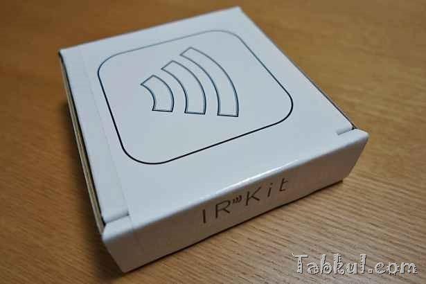 iOS向けWi-Fi学習リモコン「IRKit」を購入、開封レビュー