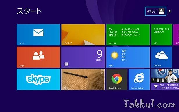 Windows 8.1でMicrosoft アカウント名を変更する方法ーWindows 8.1 入門