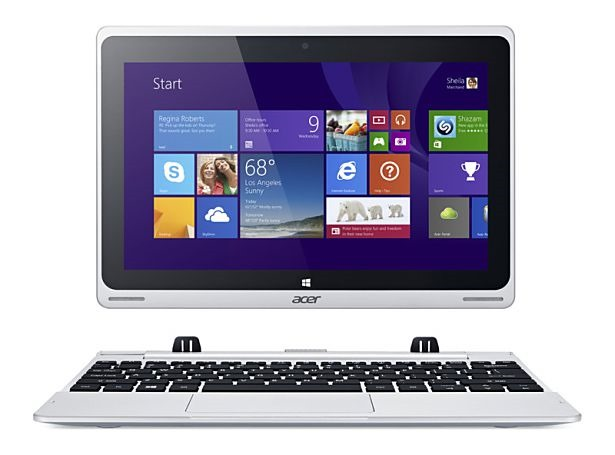 (速報)Acer、ノートPCにもなるWindowsタブレット『Aspire Switch 10』発表―スペックと価格