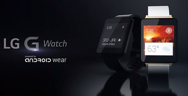 LG、防水スマートウォッチ『G Watch』の製品動画を公開―Android Wear搭載