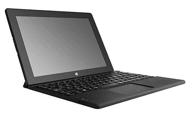 MCJ、キーボード付10型Windowsタブレット『LP-KP101W8-A』発表―スペックと価格