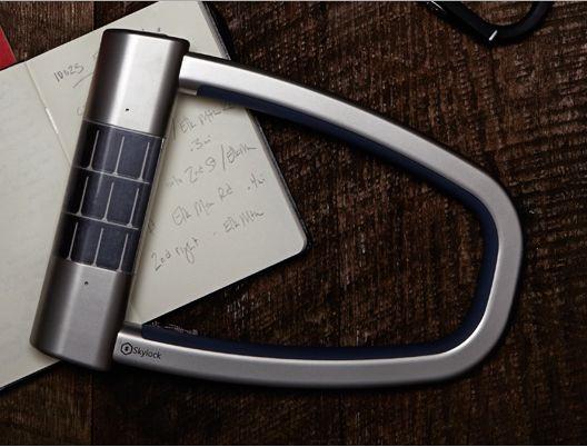 スマホ連携キーレス自転車ロック『Skylock』予約開始―価格と機能、動画