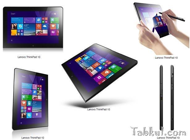Lenovo、未発表『Thinkpad 10』のスペック表を公開