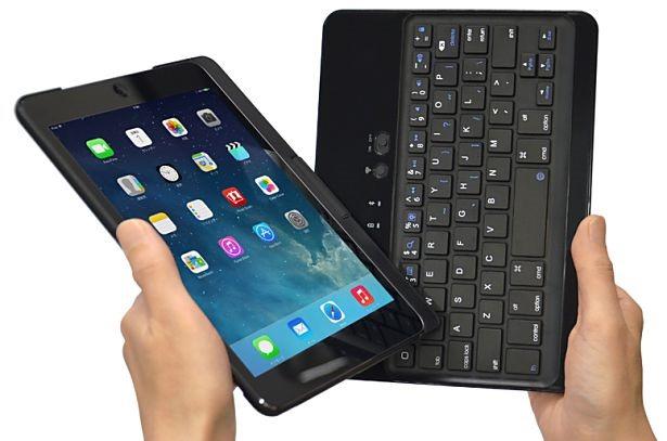 360度回転、「iPad mini」をコンバーチブルPC風にする「Bookey 360」発売―Bluetoothキーボード