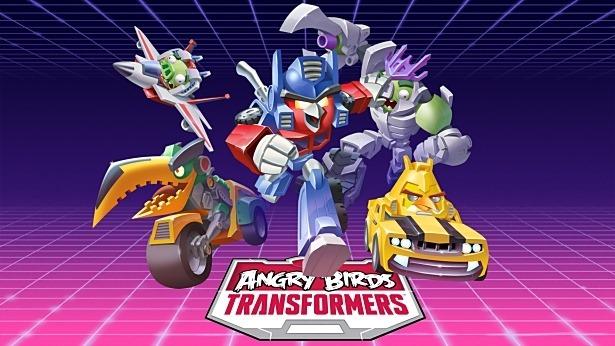 Rovio、新コラボ作品『Angry Birds Transformers』発表―ポスター比較