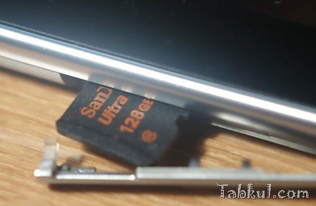 Miix2 8 レビュー31―MicroSDカード128GBのベンチマーク、カードリーダーと比較