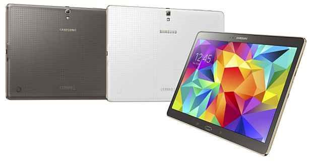 指紋センサー搭載、『Samsung GALAXY Tab S 10.5』発表―スペックと価格ほか