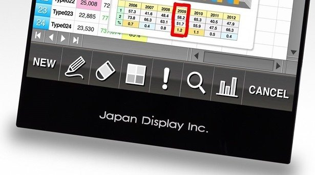 ジャパンディスプレイ、Pixel Eyesをタブレット向けに量産準備を開始