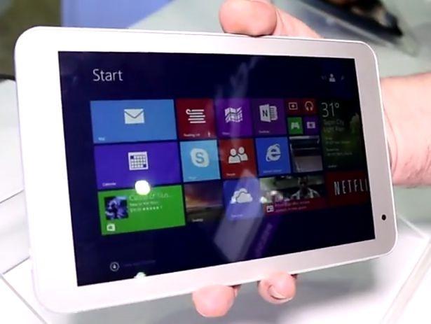 8インチWindows『Toshiba Encore 2』のハンズオン動画―インターフェイスを確認する
