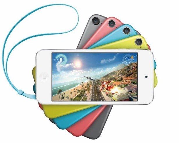 新しいiPod touch 5 16GBモデルは7/1発売予定、アマゾンで予約開始