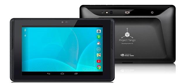 Google、3Dマッピング端末『Project Tango Tablet』発表―スペックと価格ほか