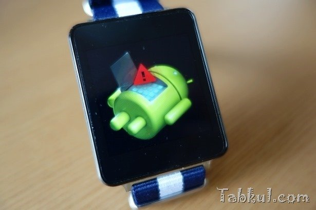 Android Wearをブートローダーから工場出荷状態に戻す方法―LG G Watchが起動しない時に