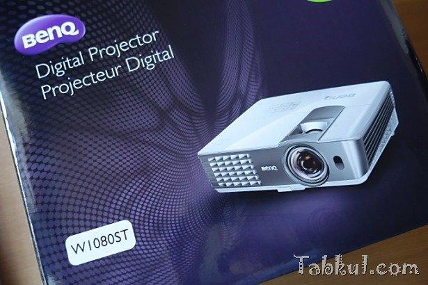 プロジェクター「BenQ W1080ST」購入レビュー、開封~Kindleでホームシアターを試すまで