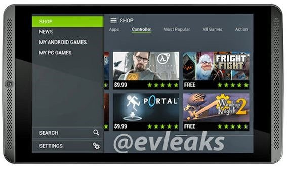 未発表『NVIDIA SHIELD Tablet』の画像がリーク―Tegra K1/7.9型2048x1536