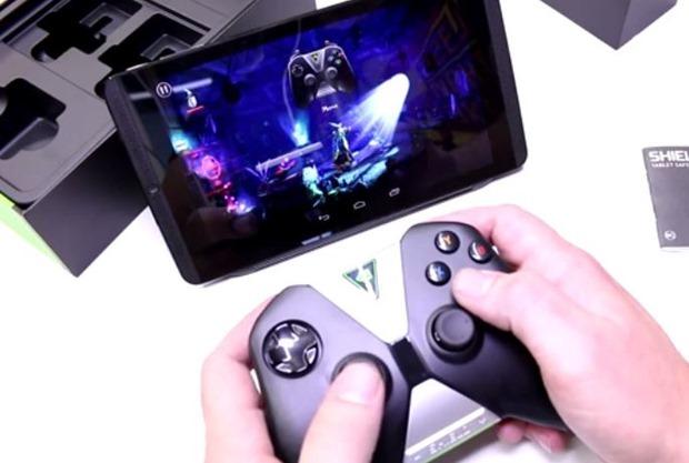 NVIDIA「Shield Tablet」と「Shield Controller」の開封動画