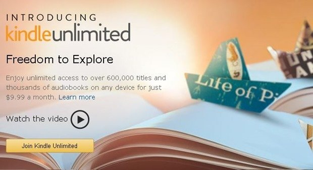米Amazon、電子書籍60万冊の読み放題サービス『Kindle Unlimited』をリリース間近か