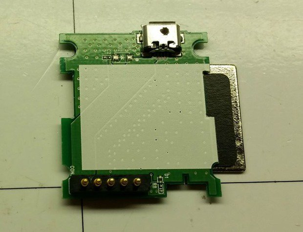 LG G Watch充電ドックの分解レビューが公開