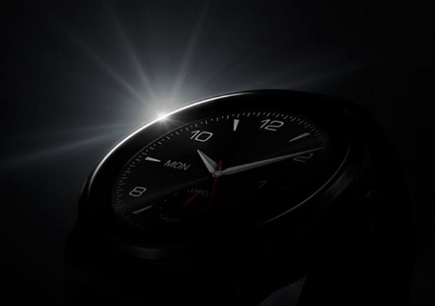新型『LG G Watch R』のティザーイメージから外観が露わに―スマートウォッチ