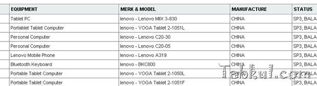 Lenovo、未発表Windowsタブレット『Miix 3-830』がPOSTEL通過