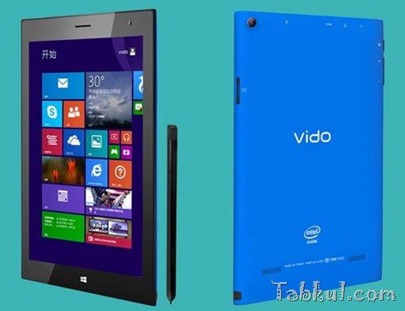 ペンが内蔵された『原道 W8』(Vido W8)は8月発売か、8インチWindowsタブレット