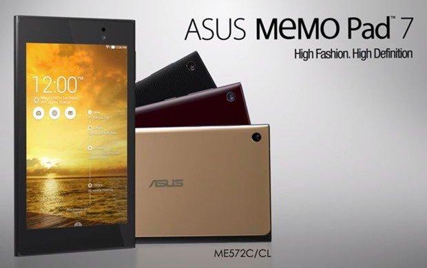 ASUS、『MeMO Pad 7 (ME572C/CL)』の紹介動画を公開