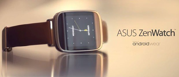 ASUS ZenWatch (WI500Q)発表、Android Wear搭載スマートウォッチ #IFA2014