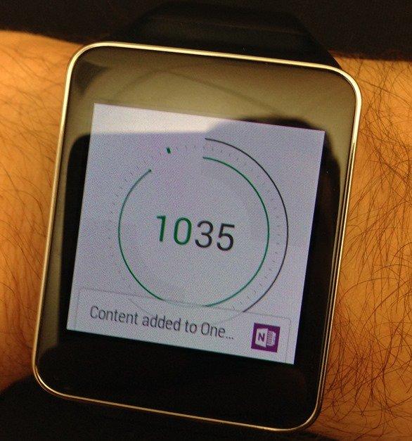 """なんと""""OneNote""""がAndroid Wearスマートウォッチ対応に―Microsoft発表"""