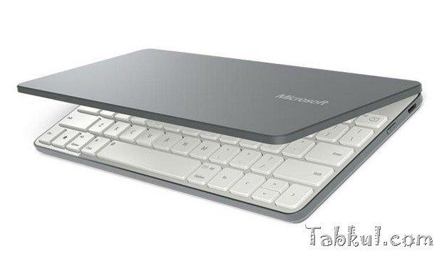 Microsoft、iOS/Androidにも対応する小型キーボード『Universal Mobile Keyboard』発表―価格と動画ほか