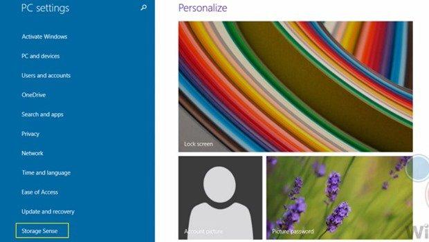 Windows 9 で「Storage Sense」が見つかる、Windows Phoneブランド廃止か