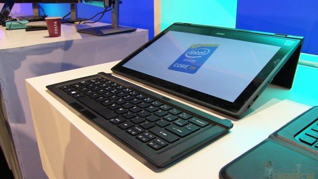 Acer、Core M搭載2in1『Aspire Switch 12』のハンズオン動画