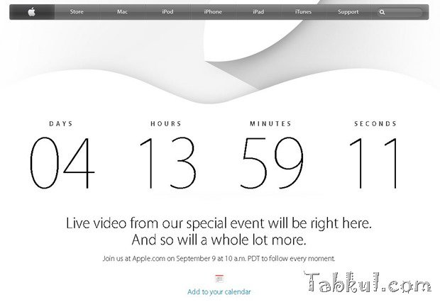 Apple、9/9の新製品発表イベントをライブ配信―iPhone6/iWatch披露か