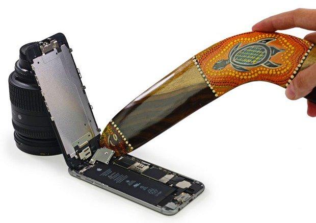 iPhone 6 Plus/iPhone 6が分解されパーツが明らかに―iFixitレポート