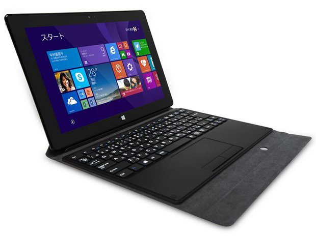 着脱式キーボード付き10型Windowsタブレット「10P1100T-AT-FS」登場、スペックと価格―MSI S100と比較する