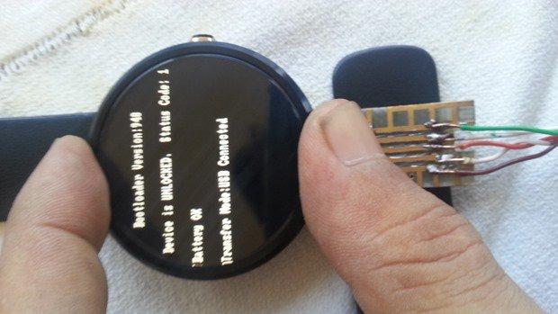 USBピン発見者、『moto 360』のブートローダーをアンロック