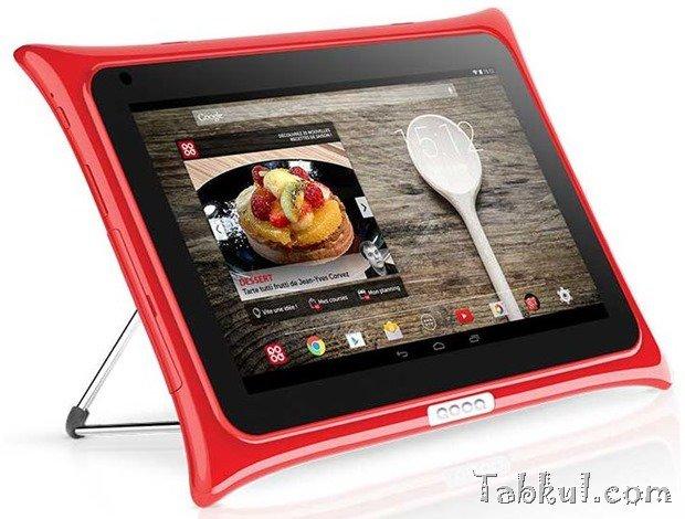 キッチン用Androidタブレット『QOOQ V3』発表、スペックと価格ほか