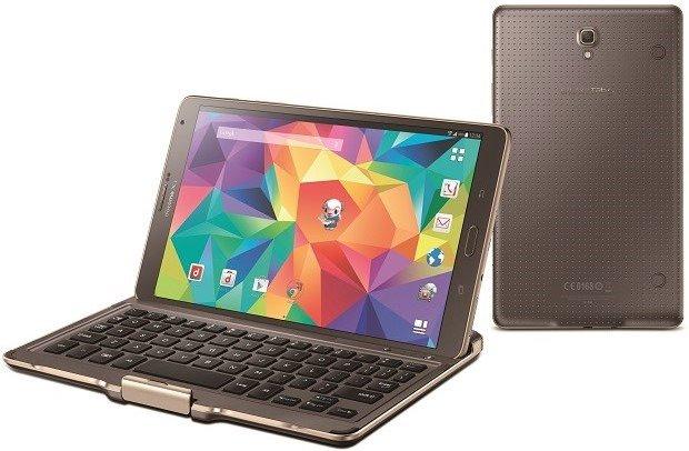 ドコモ、キーボード付き8型Android『GALAXY Tab S 8.4/SC-03G』発表―スペックほか