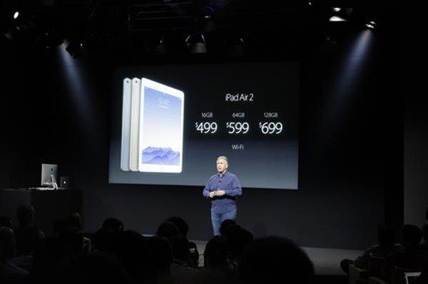 速報:『iPad Air 2』発表、厚み6.1mmでTouch ID搭載―価格や発売日ほか
