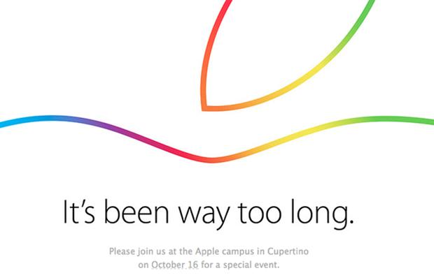 Apple、スペシャルイベント10/16開催を発表―新型iPadシリーズ披露か