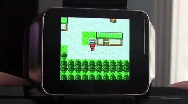 世界最小ゲームボーイカラー!Android Wear+エミュレータによるプレイ動画―スマートウォッチ