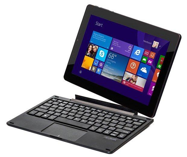 179ドルの2in1/Windowsタブレット『E FUN Nextbook 10.1』発表―スペックと価格