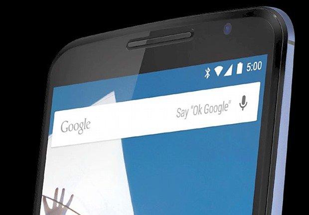 Nexus 6 のレンダリング画像が投稿される、Android Lはv5.0か
