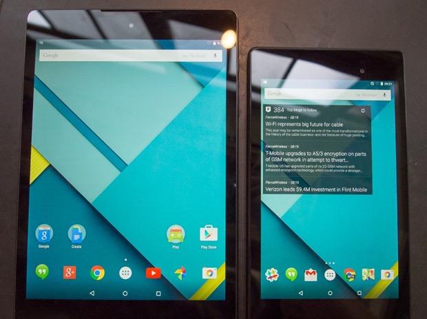 Nexus 9』のハンズオン動画、Nex...