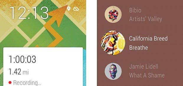 Google、Android Wearに音楽プレーヤーとGPSトラッキングの追加を発表