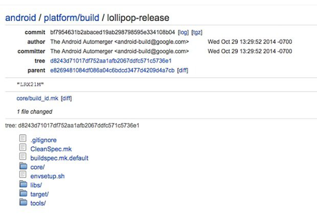 Google、『Android 5.0 Lollipop』ソースコードをAOSPで公開