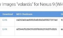 Google、Nexus 9向けに『LRX21R』ファクトリーイメージ公開