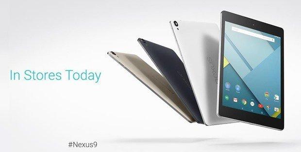 Google、『Nexus 9』発売を発表―現在の在庫と出荷状況